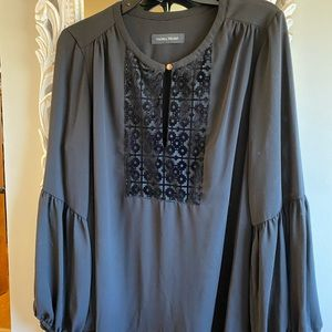 Ivanka Trump blouse black L